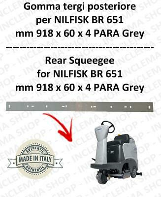 BR 651 squeegee rubber back for scrubber dryer  NILFISK