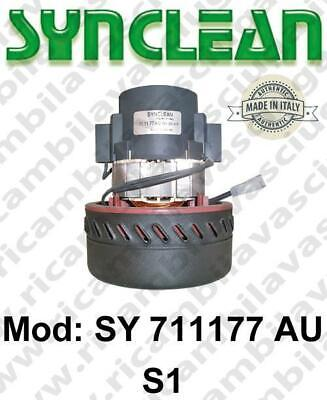 Vacuum motor SY  711177AU/S1 SYNCLEAN for scrubber dryer