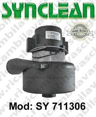 Vacuum motor SY  711306 SYNCLEAN for scrubber dryer and vacuum cleaner