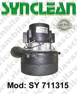 Vacuum motor SY  711315 SYNCLEAN for scrubber dryer and vacuum cleaner