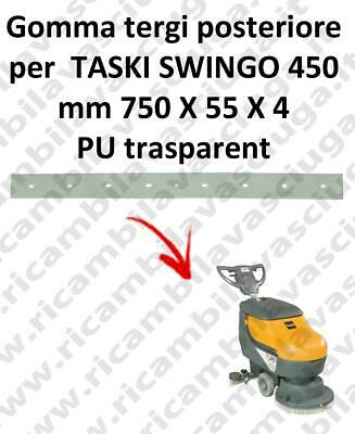 SWINGO 450  Back Squeegee rubber for TASKI accessories, reaplacement, spare part