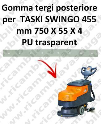 SWINGO 455  Back Squeegee rubber for TASKI accessories, reaplacement, spare part