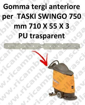 SWINGO 750  Front Squeegee rubber for TASKI accessories, reaplacement, spare par