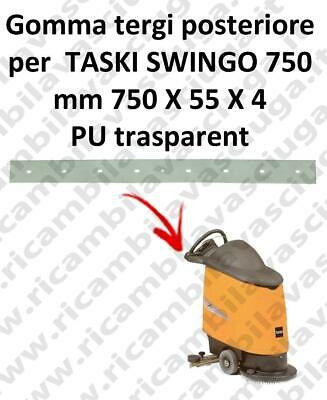 SWINGO 750  Back Squeegee rubber for TASKI accessories, reaplacement, spare part