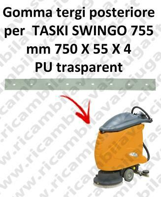 SWINGO 755  Back Squeegee rubber for TASKI accessories, reaplacement, spare part