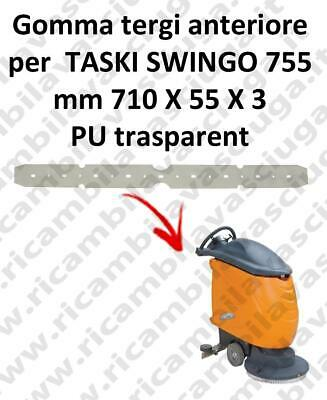 SWINGO 755  Front Squeegee rubber for TASKI accessories, reaplacement, spare par
