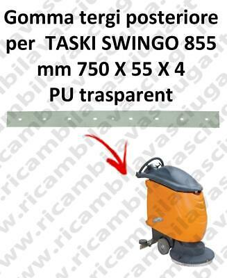 SWINGO 855  Back Squeegee rubber for TASKI accessories, reaplacement, spare part