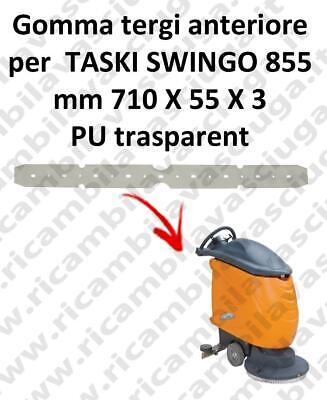 SWINGO 855  Front Squeegee rubber for TASKI accessories, reaplacement, spare par
