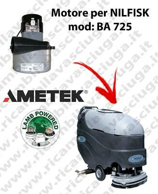 BA 725 Vacuum motor LAMB AMETEK for scrubber dryer NILFISK