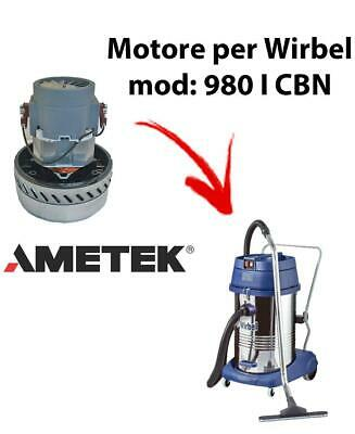 980 I CBN Vacuum motor Amatek for wet and dry vacuum cleaner WIRBEL