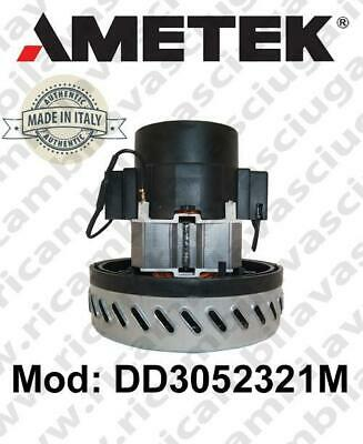Vacuum motor AMETEK Italia DD3052321M for scrubber dryer and vacuum cleaner