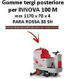 INNOVA 100 M  Back Squeegee rubber Comac