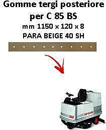 C 85 BS  Back Squeegee rubber Comac