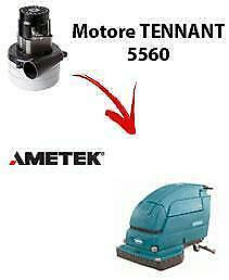 5560 Vacuum motors AMETEK for scrubber dryer TENNANT