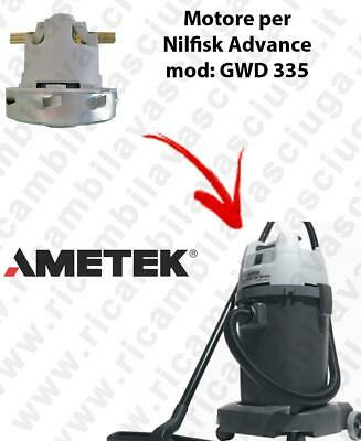 GWD 335  Ametek Vacuum Motor for Vacuum cleaner Nilfisk Advance