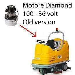Diamond 100 - 36 volt Vacuum motors AMETEK for scrubber dryer Adiatek OLD Versio