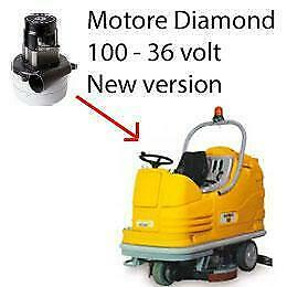 Diamond 100 - 36 volt Vacuum motors AMETEK for scrubber dryer Adiatek New Versio