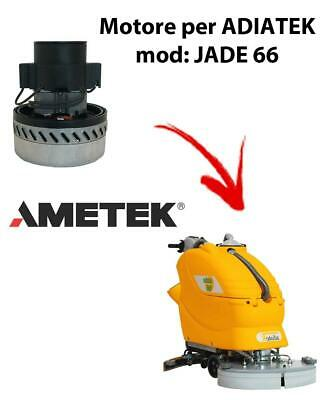 Jade 66 Vacuum motors AMETEK Italia for scrubber dryer Adiatek