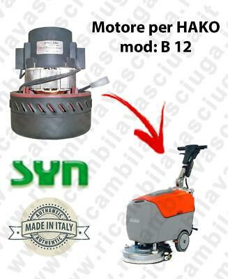B 12 Vacuum motor Synclean for scrubber dryer HAKO
