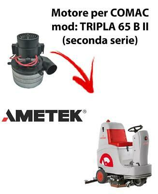 TRIPLA 65B II Vacuum motors AMETEK Italia for scrubber dryer Comac
