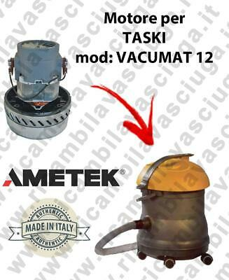 VACUMAT 12 AMETEK vacuum motor for wet and dry vacuum cleaner TASKI