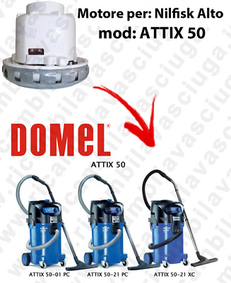 DOMEL VACUUM MOTOR for ATTIX 50 vacuum cleaner NILFISK ALTO