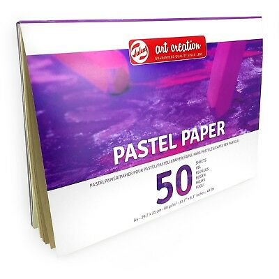 Royal Talens – Art Creation A4 Pastel Paper Sketchbook – 50 Sheets – 90gsm
