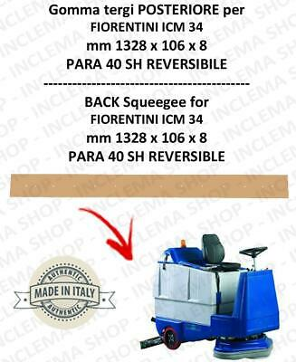 ICM 34 squeegee rubber back for scrubber dryer  FIORENTINI