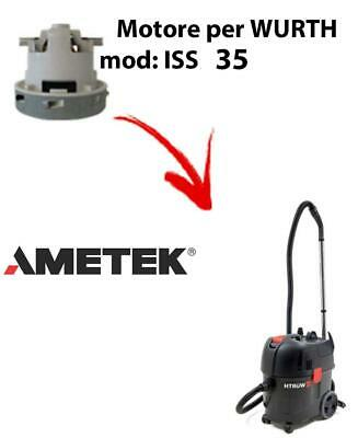 ISS 35 automatic Vacuum motor AMETEK for vacuum cleaner WURTH
