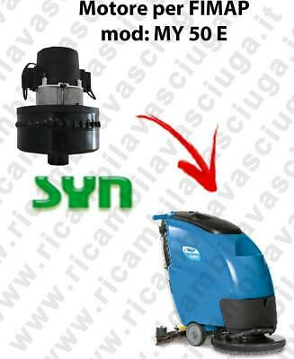 MY 50 E Vacuum motor AMETEK  for scrubber dryer Fimap