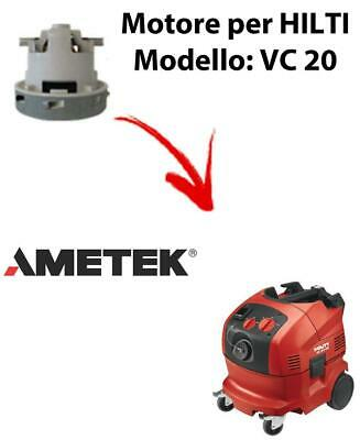 VC 20 automatic Vacuum motor AMETEK for vacuum cleaner HILTI