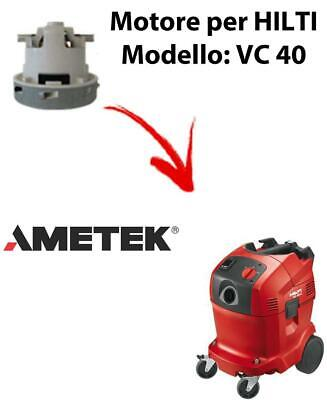 VC 40 automatic Vacuum motor AMETEK for vacuum cleaner HILTI