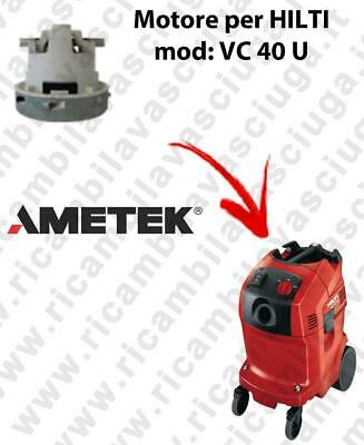 VC 40 U automatic Vacuum motor AMETEK for vacuum cleaner HILTI