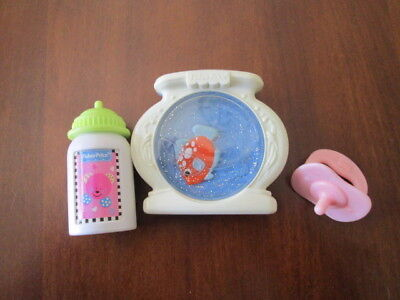 Fisher Price Little Mommy BABY DOLL accessories lot