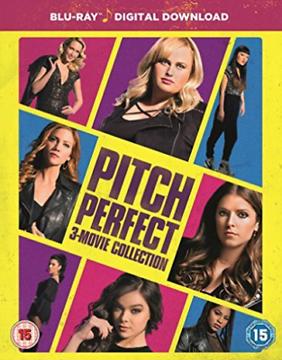 Pitch Perfect 3 Movie Collection  BLU-RAY NEW