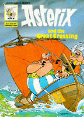 Asterix & the Great Crossing (Classic Asterix paperbacks)-ExLibrary