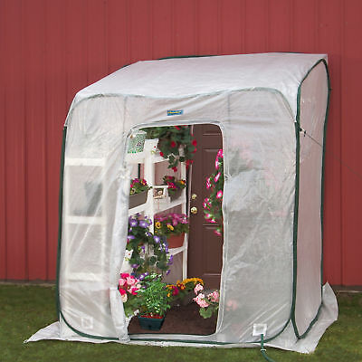 Flowerhouse Hothouse 6 Ft. W x 6 Ft. D Lean-To Greenhouse