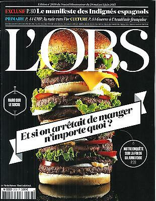 The Obs No.2638 28 May 2015 Junk Food/ Podemos/ Ump/ Academy Francaise/ Mexico