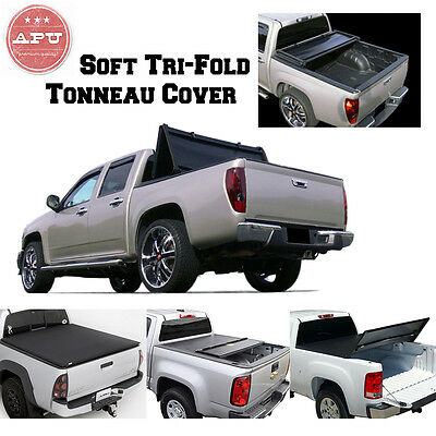 APU 09-18 Dodge Ram 1500/2500/3500 5.7 ft Bed Black Soft Tri-Fold Tonneau Cover