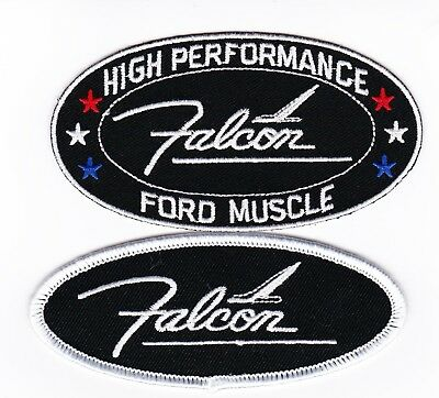Ford Falcon Sew/iron On Patch Badge Emblem Embroidered Ranchero