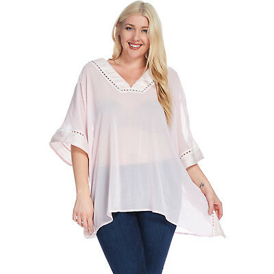5a21f964b0920 HADARI WOMEN S PLUS Size Casual Off Shoulder Blouse -  36.94