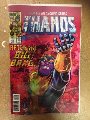 10 X Thanos #13 Cosmic Ghost Rider 1st Lenticular Cover 3-D LH Comic Book Lot