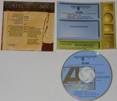 Collective Soul  Blame  U.S. promo cd  hard-to-find