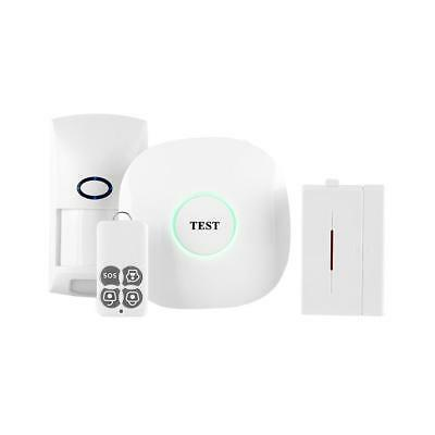 Wireless GSM Autodial SMS Office Smart Home Office DIY Security System Set