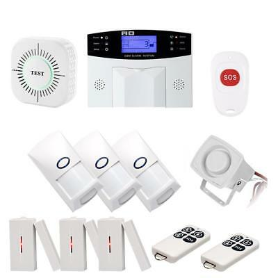 Wireless WiFi Autodial SMS Office Home House Office DIY Security System Set