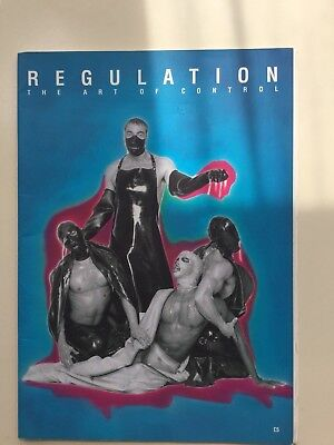 Regulation Angel Islington London 2nd catalogue rubber leather S&M magazine gay