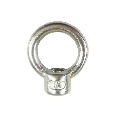"T316 Stainless Steel Lifting Eye Nut 1/4"" UNC (2 PCS ~ 100 PCS)"
