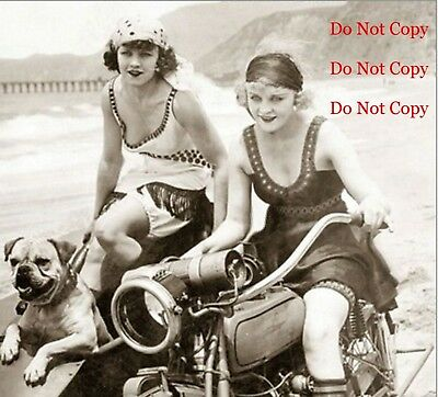 Harley Davidson Motorcycle Man Cave DECOR SIGN Pinup Girl 8X10 Photo Picture Bar