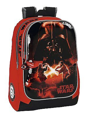 20 X Star Wars Official Licensed Padded Backpacks Red and Black