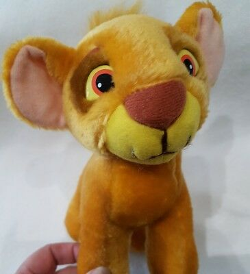 The lion king simba soft toy plush new